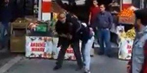 Kadına şiddet bitmek bilmiyor! Sokak ortasında...