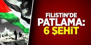 Filistin'de patlama: 6 şehit