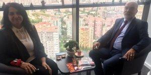 Kemal Erim Turuncu Medya Grubu'nu ziyaret etti