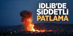 İdlib'de şiddetli patlama