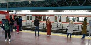 Ankara metrosunda korkunç olay