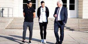 Steinmeier: İlkay ve Özil'i Alman futbolu büyük yaptı