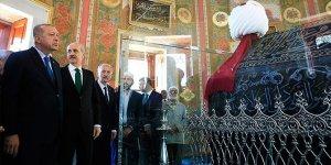 Erdoğan, Fatih Sultan Mehmet'in türbesini açtı
