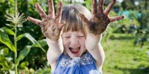 Çocukların zeka gelişimine yardımcı: Toprak..