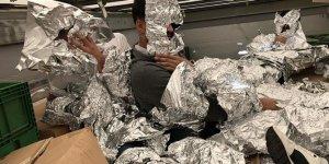 Göçmenleri kaçırmak için bakın neye sardılar