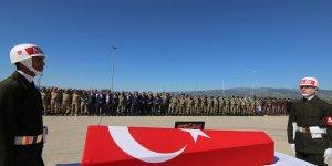 Bingöl'de şehit asker için tören!