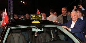 Başbakan Yıldırım'dan taksicilere Uber mesajı