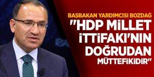 """""""HDP Millet İttifakı'nın doğrudan müttefikidir"""""""