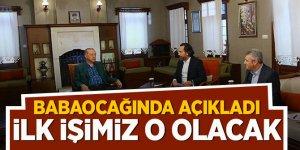 Erdoğan: İlk işimiz o olacak