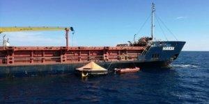 Akdeniz'de batmakta olan Türk gemisi kurtarıldı!