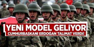 Cumhurbaşkanı Erdoğan talimat verdi! İşte yeni model