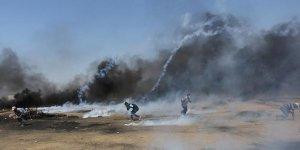 Türk bayrağı sallayan Filistinli İsrail askerleri tarafından vuruldu