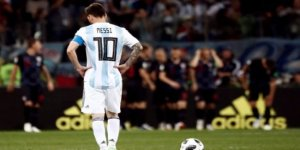 Messi'li Arjantin'e Hırvat darbesi