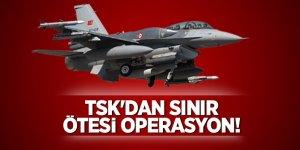 Irak'ın kuzeyindeki terör hedeflerine hava harekatı!