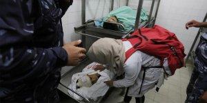 İsrail ordusu yine vahşet saçtı