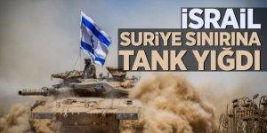 İngiliz haber ajansı Reuters: İsrail Suriye sınırına tank yığdı