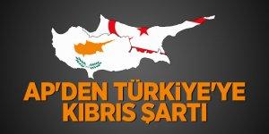 AP'den Türkiye'ye Kıbrıs şartı