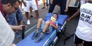 Bodrum'da feci kaza! 'Anne üzülme benim bir şeyim yok'