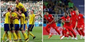 İsveç - İngiltere maç sonucu: Sürpriz yok