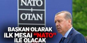 Cumhurbaşkanı Erdoğan, yeni dönem mesaisine 'NATO' ile başlayacak