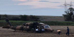 Tren kazasında yaralananlar için askeri helikopterler devreye girdi