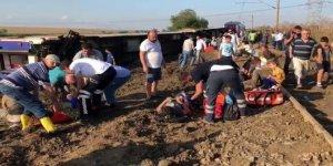 Tekirdağ'daki tren kazasıyla ilgili geçici yayın yasağı getirildi