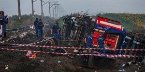 Tekirdağ'daki tren kazası ile ilgili flaş gelişme!