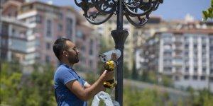 Ankara'da güvenlik kamerası uygulaması başladı