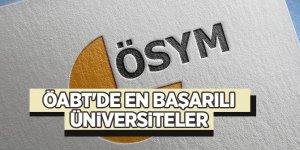 ÖABT'de en başarılı üniversiteler açıklandı!