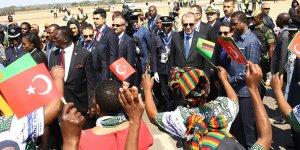 """Erdoğan """"Gökkuşağı Milleti"""" Güney Afrika'ya teşekkür ediyorum"""