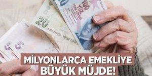 Milyonlarca emekliye büyük müjde! Başkan Erdoğan: İkincisi verilecek