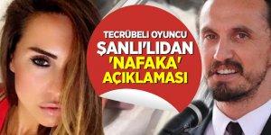 Tecrübeli oyuncu Tuncay Şanlı'lıdan 'Nafaka' açıklaması