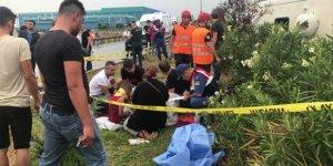 1 ölü, 25 yaralı:  Yolcu otobüsü devrildi