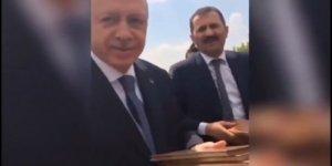 Başkan Erdoğan'ın en samimi anı objektiflerde