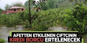 Tarım Bakanı Pakdemirli: Afetten etkilenen çiftçilere Müjdeji verdi!
