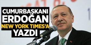 Cumhurbaşkanı Erdoğan'ın New York Times makalesi