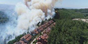 Bursa Valisi'den yangın açıklaması