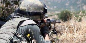 İki askeri şehit eden terörist öldürüldü
