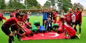 İşitme Engelliler Milli Takımı Avrupa Şampiyonu oldu