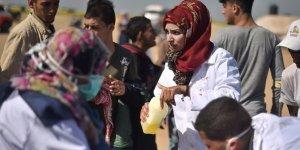 İsrail askerlerinin hedefindeki sağlık görevlileri zor anları