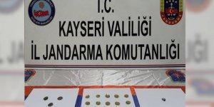 Kayseri İl Jandarma Komutanlığında tarihi eser operasyonu!