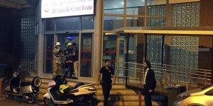 Haseki Hastanesi ek hizmet binasında yangın çıktı