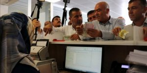 Hatay'daki iş adamlarından Türk lirasına destek
