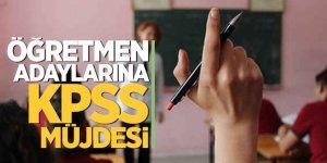 Flaş haber! Öğretmen adaylarına KPSS müjdesi