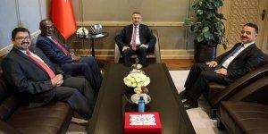 Cumhurbaşkanı Yardımcısı Oktay ile Sudan Dışişleri Bakanı görüştü