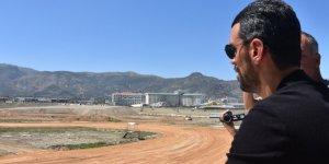 Kenan Sofuoğlu Ayfonkarahisar'da tesisleri inceledi