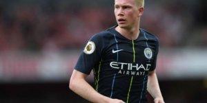 De Bruyne Manchester City'i üzdü