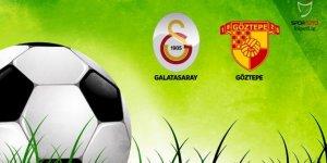 Galatasaray'ın konuğu Göztepe!