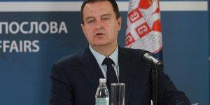 Sırbistan dışişleri bakanın'dan Türkiye'ye destek