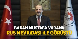 Bakan Mustafa Varank, Rus mevkidaşı ile görüştü